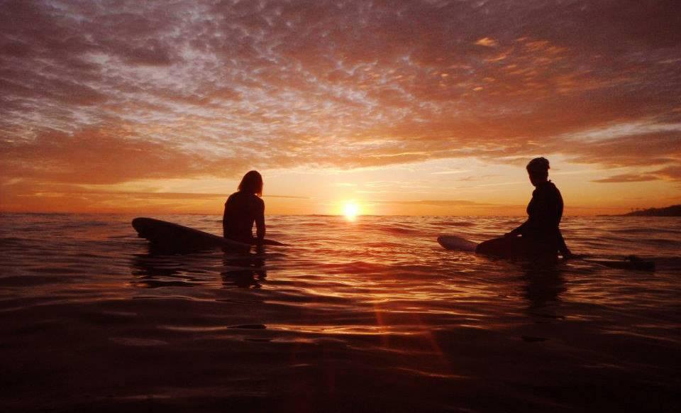 Утренний серфинг