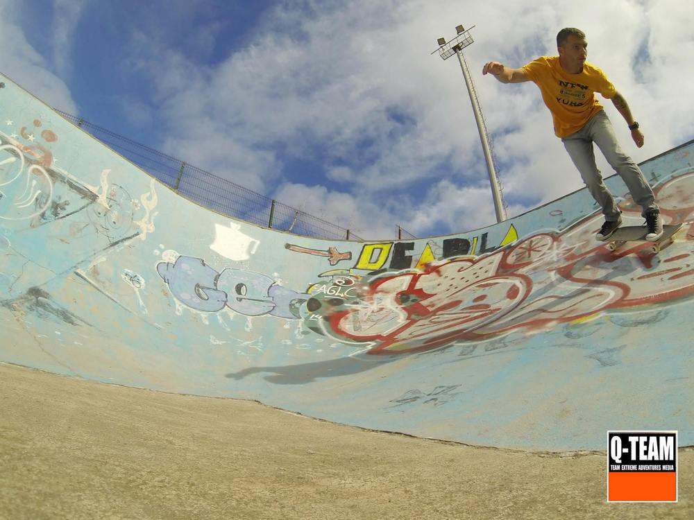места для скейтбординга на Тенерифе